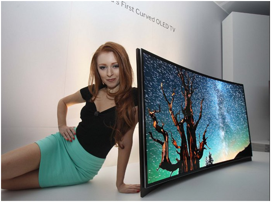 Samsung Debuts World's First Curved OLED TV On CES