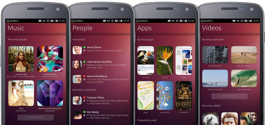 Ubuntu Smart mobile