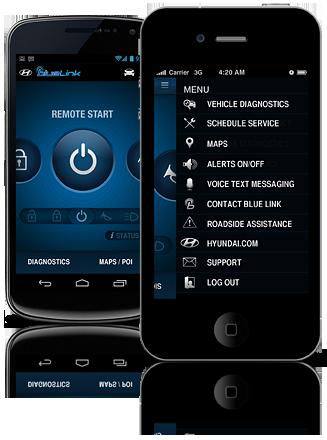 bluelink phone
