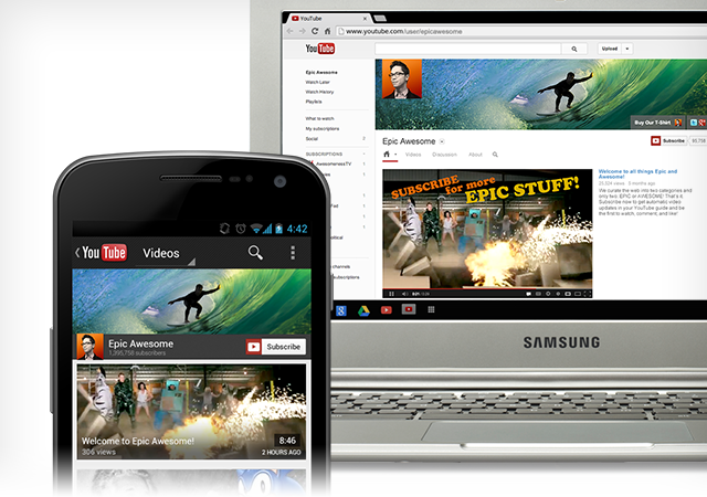 YouTube Introduces A New Redesign – One Channel